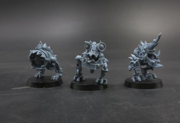 Novas Figuras de Resina AS Mostrado 3 pçs / set Kits Modelo