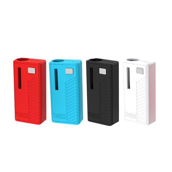 Original Yocan Rega Vape Box Mod 320mAh Preheat VV Battery With Side Window Super Portable fit 510 Cartridges dhl free
