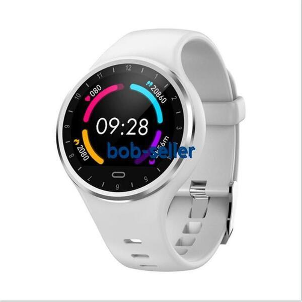 M8 Smart Watch Круглый Циферблат Монитор Сердечного ритма Фитнес-Спорт Smartwatch Водонепроницаемый Женщины Смарт-Браслет