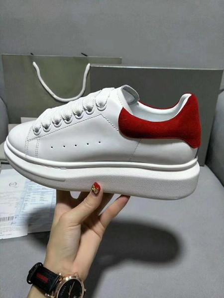 Entwürfe beschuht roter Unterseiten-Turnschuh-Luxuspartei-Hochzeits-Schuh-echtes Leder-Spitzen schnüren sich oben beiläufige Schuhe xrx190403010
