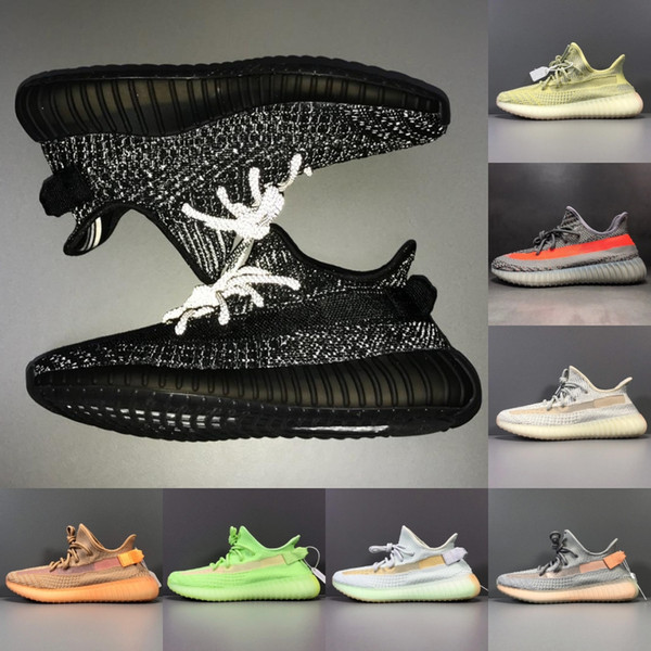 2019 New Color Trfrm Synth Reflective Men Women Running Shoes Hyperspace Static Black Kanye West Bred sports Sneakers Sport shoes