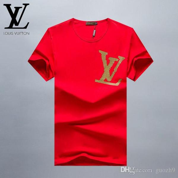 Tasarımcı Lüks Markalar 2019 Yaz Giyim T-shirt Mens Womens Gözler Tee Üst Kadınlar Için Pamuk T Shirts42 Modeli M-3XL
