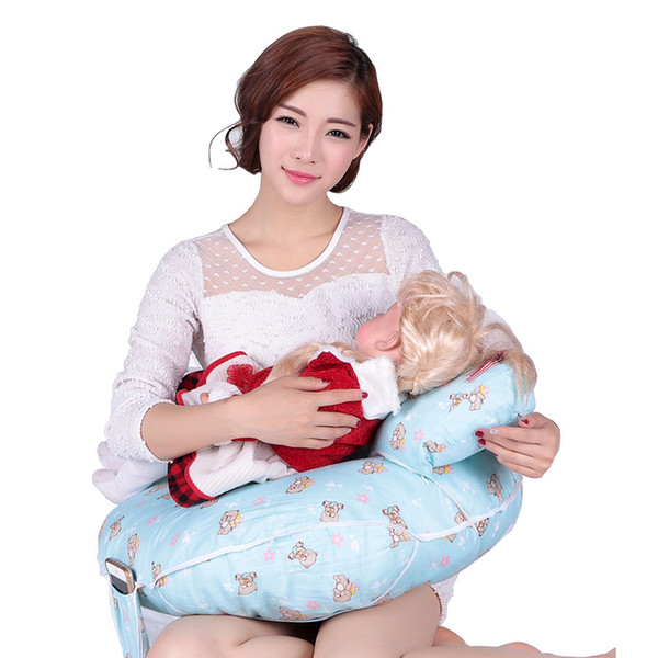 New Cartoon Nursing Pillow Postnatal Supplies Newborn Breast Feeding Pillow Infant Baby Sitting Cushion U-Shape Baby