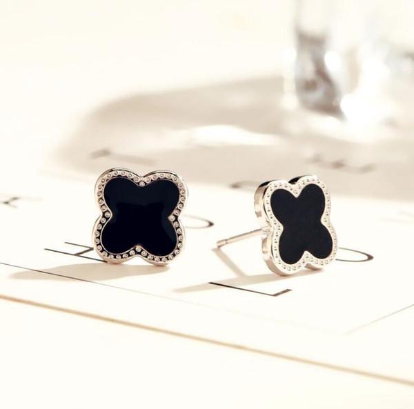 Black+Silver Earrings