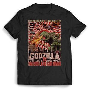 Godzilla Terörün Titanları Erkek / Bayan Tişörtlü