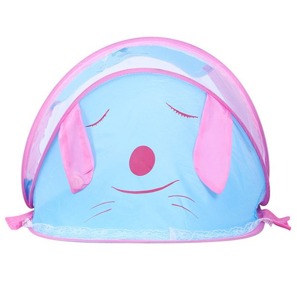 Cute Dog Duck Cartoon Mosquito Net For Babies Boys Girls Safety Baby Mosquito Bet Cradle Canopy For Bed Suit 0~5 Years