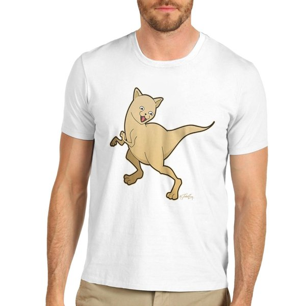 Maglietta da uomo T-shirt a maniche corte Dinosaur da uomo T-shirt classica di alta qualità