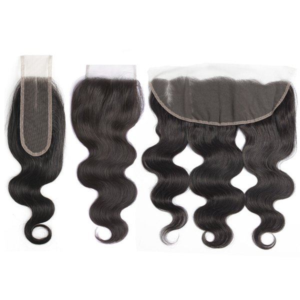 MEYA Lace Closure Frontal Body Wave Human Hair Closure Brazilian Remy Hair Free part Middle Part 4x4 4x13 2x6 Closure