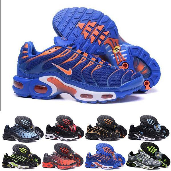 nike Tn plus air max airmax  Discount Hight qualidade esportes ao ar livre sapatos masculinos New TN Black White Mens Red respirável Runner Sneakers Homem Sapatilhas Tennis Shoes