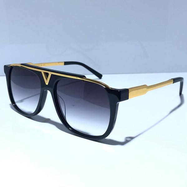 best selling MASCOT 0937 classic Popular sunglasses Retro Vintage shiny gold Summer unisex Style UV400 Eyewear come With box 0936 sunglasses
