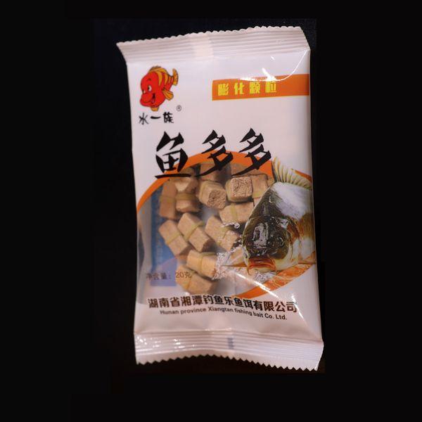 Leurre bon marché Jigeecar 1 sac Pellet appâts avec bande Crucian Carpe herbe Carpe Carpe Pêche Pêche Pêche Alimentateur Leur Particule Se connecter facilement