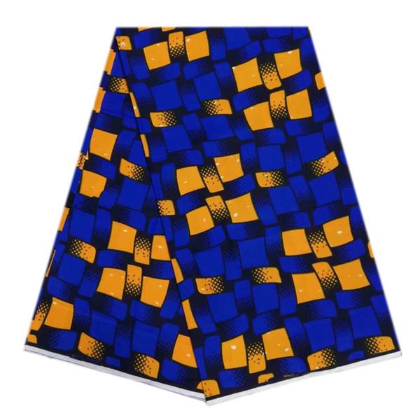 Veritable Dutch Real blue Wax Hollandais Wax 6yards/pcs ,African Printed Fabric 100%Cotton For Nigerian Wedding