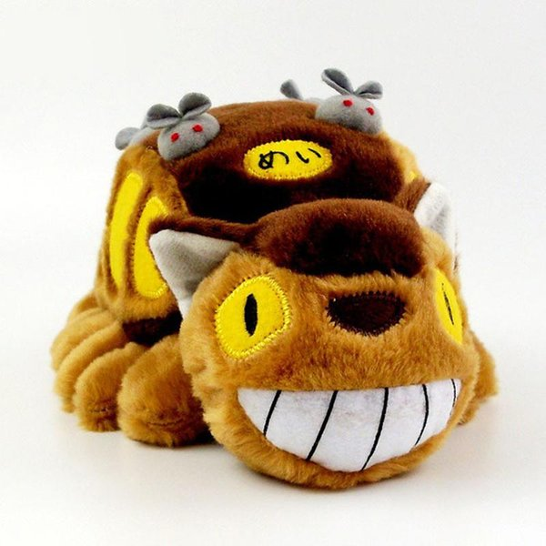 Cute Cartoon Animation Totoro Bus Plush Toy Totoro Stuffed Doll Soft Plush Toys Girl Gift Kids Popular Toy Animal Doll