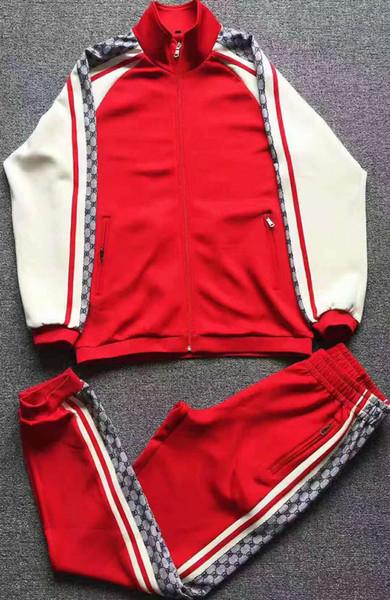 linbingfei / 2019 männer Trainingsanzüge Sweatshirts Trainingsanzüge Männer Hoodies Trainingsanzug Jacken Sets Medusa Sportswear Luxus Sport Anzug
