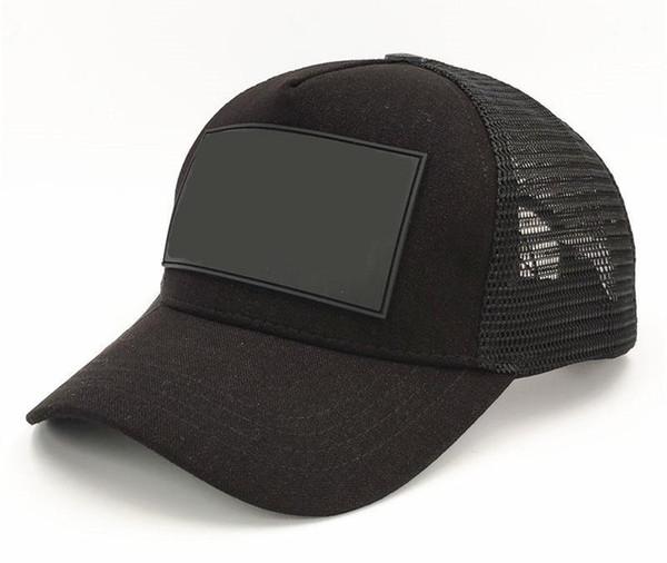 Sport Cap Cap bola letra preta Summer Fashion Snapback Caps Strapback Boné de beisebol para os homens cabido Mulheres Hat