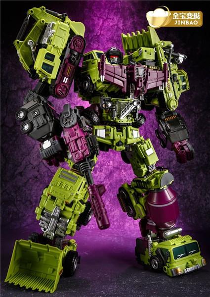 Трансформация негабаритных игрушек JinBao Devastator