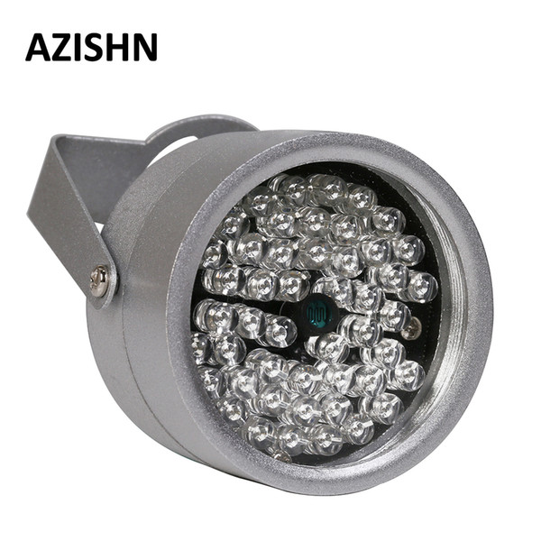 metal led AZISHN LEDS 48IR illuminator IR Infrared Night Vision metal waterproof CCTV Fill Light For CCTV Surveillance camera