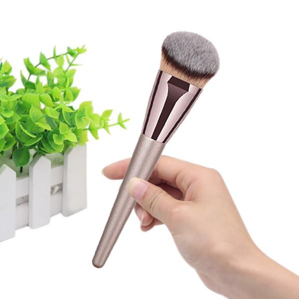 1 Pc Grand Bronzeur Pinceau Professionnel Fibre Cheveux Visage Contour Blush Fondation Poudre Maquillage Pinceau Cosmétique Outil