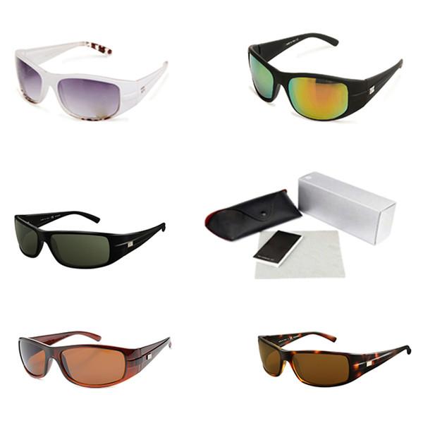 Wrap Around Plastic Sunglasses Men Round Frame Mirrored Sun glasses Fishing Glasses Athletic Brand Fashion Mountain Bike Sun Eyewear 4057