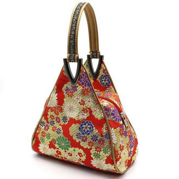 New Elegant Oriental Design Chinese Style Women's Wallet Brocade Silk Many Styles Zipper Bag