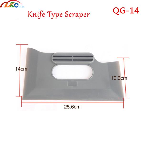 100pcs/lot DHL Free Qili QG-14 knife type scraper 3D carton fiber Film Installation Building industry installation Tint Scraper