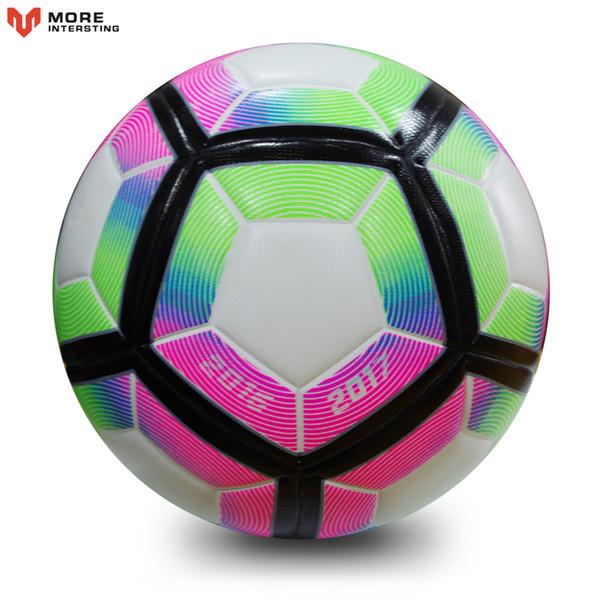 top popular High Quality 2018 Official Size 5 Size 4 Football Ball PU Slip-resistant Seamless Match Training Soccer Ball Football Equipment 2021