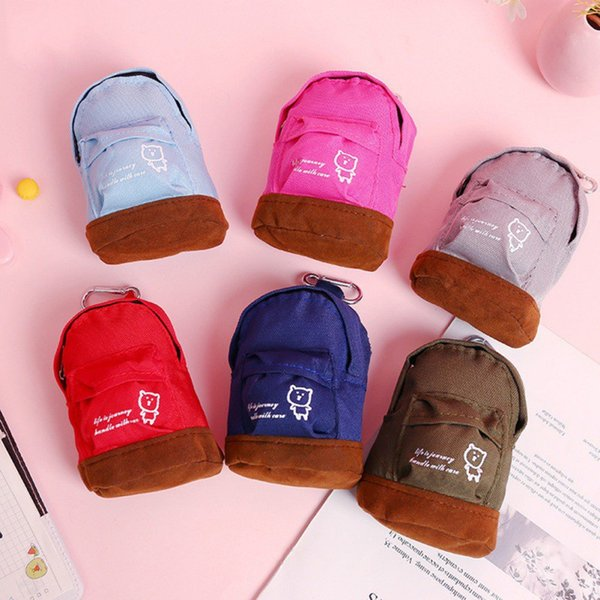 Cartoon Kindergarten School Bag Purse Cute Bear Oxford Cloth Baby Mini Bag Kids Children's Backpack Cute Boy Shoulder