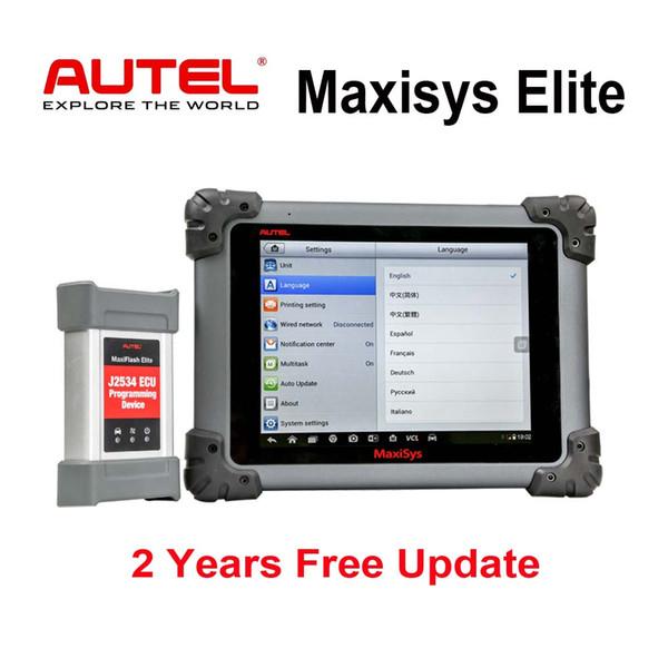 Autel Maxisys Elite Diagnostic Tool Upgraded MS908P Pro con Wifi completa OBD2 esplorazione automobilistico con J2534 programmatore ECU 2 anni Aggiornamento gratuito