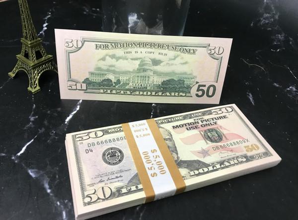 50 Dolars (100pcs)