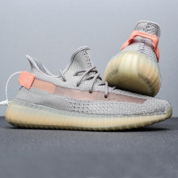 Adidas Yeezy Boost 350 V2 Hot Sale Butter 95 V2 Chaussures respirantes Semi Frozen Blue Tint Zebra Sesame 95 Crème Kanye West chaussures de designer Baskets