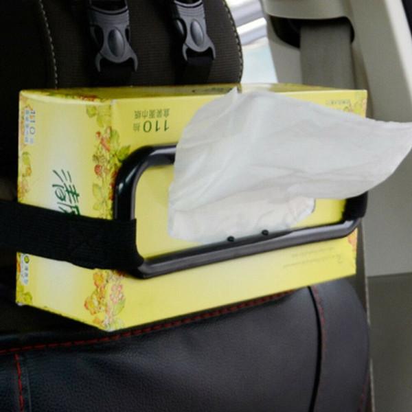 Коробки для салфеток Кронштейн для автомобиля Солнцезащитный козырек Крышка салфетки для бумаги Салфетка на спине