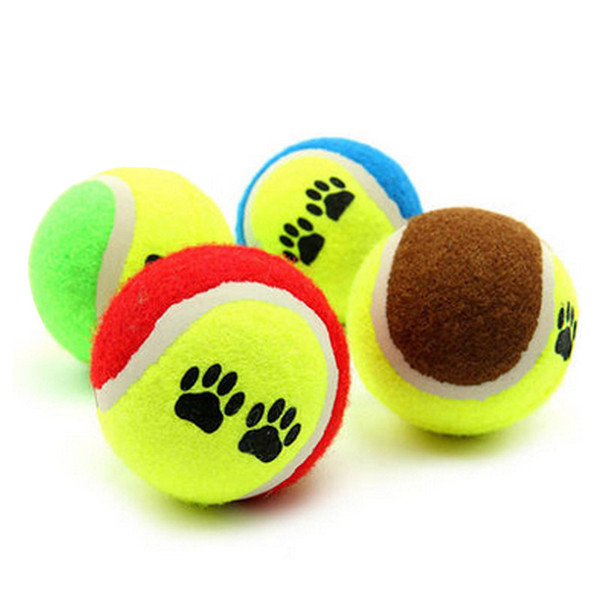 Pet Tennis Dog Cat Training Bite Ball Interactive Puzzle Dog Toy Dog Bite A Generation of Hot Sale