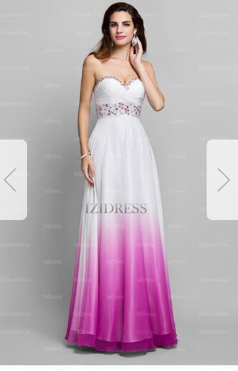 721791bd1b6 A Line Princess Sweetheart Floor Length Chiffon Prom Dress67 Light ...