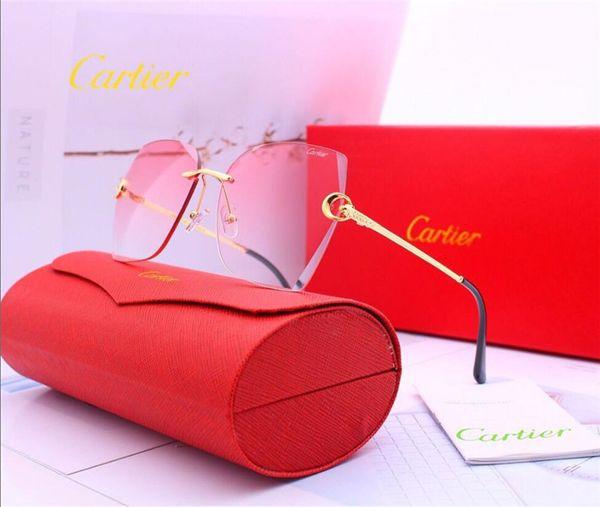 Kutu Polarizing Kadınlar Erkekler Gözlük Açık Yansıtmasız UV400 Sürüş Binme Spor güneş gözlüğü ile Sokak Sevimli Güneş