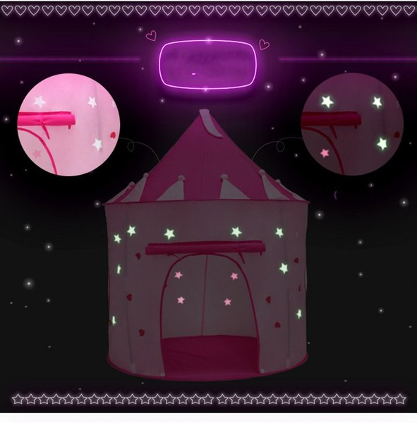 promo code ea2b9 f511a 2019 New Arrival 105X135CM Grow Tent Light Up Kids Playing Games Tent Pink  Color Princess House Kids Christmas Toys Supplies From Beltseller, $29.04 |  ...