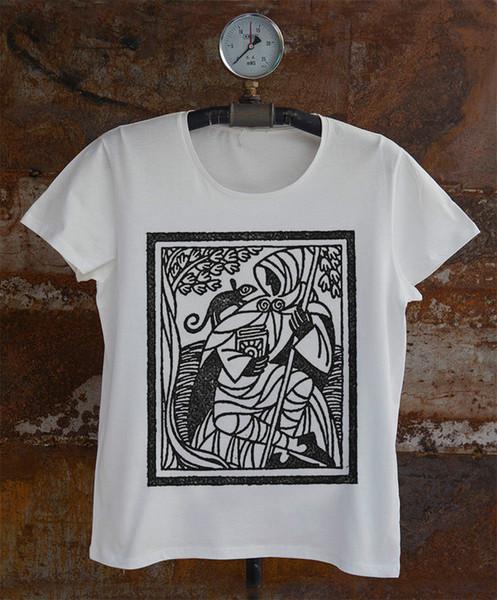Earthsea * Ursula L. Guin * Мужская футболка Ged and Otak 2018 Новая модная мужская футболка с коротким рукавом 2018 Новое поступление Смешно