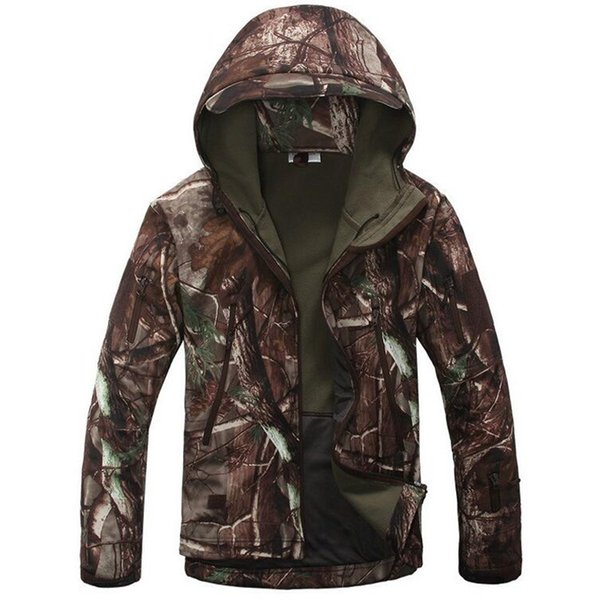 Tad V4.0 Lurker Shark Skin Soft Shell Military Outdoortactical Jacket Waterproof Windbreaker Camouflage Army Outhunting Clothes C19041303