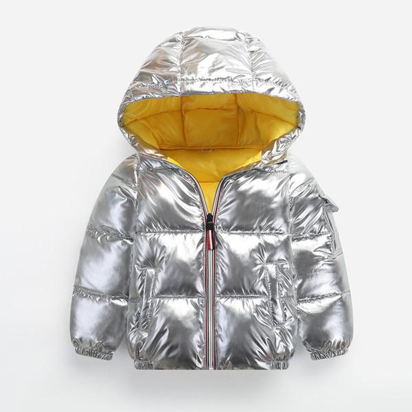 good quality Boys Jackets Winter Cartoon Thicken Snow Suits Kids Girls Hooded Outerwear Warm Children Down Parkas Children Coats