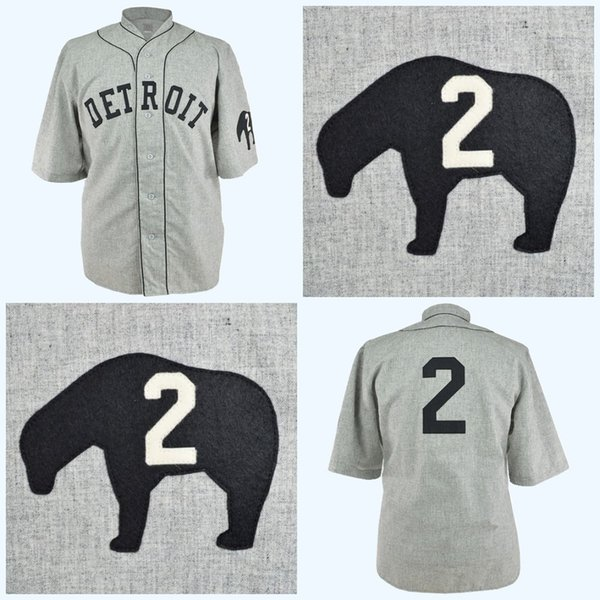 Detroit Cubs 1935 Road Jersey Any Player or Number Stitch Sewn All Stitched High Quality Free Shipping Baseball Jerseys