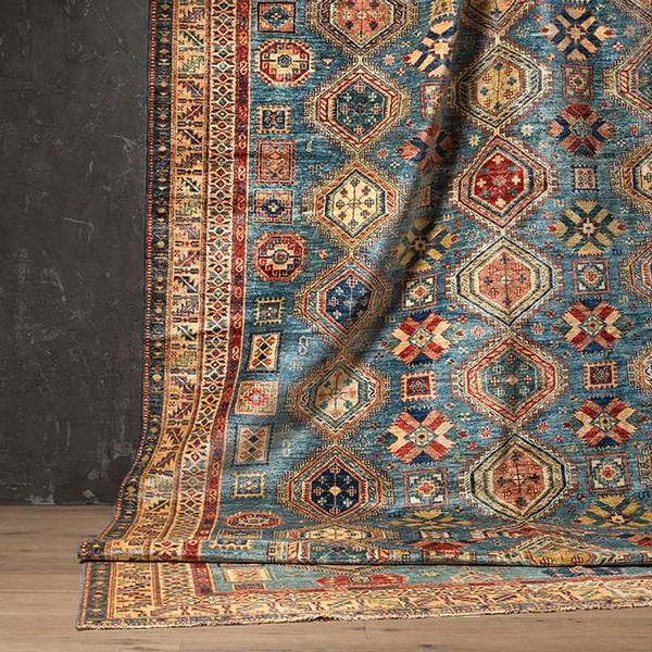 Pakistan Wool Manual Tie Continuous System A Living Room Carpet Collection Mashup Arts Tapestry Carpetgc193kilimyg40