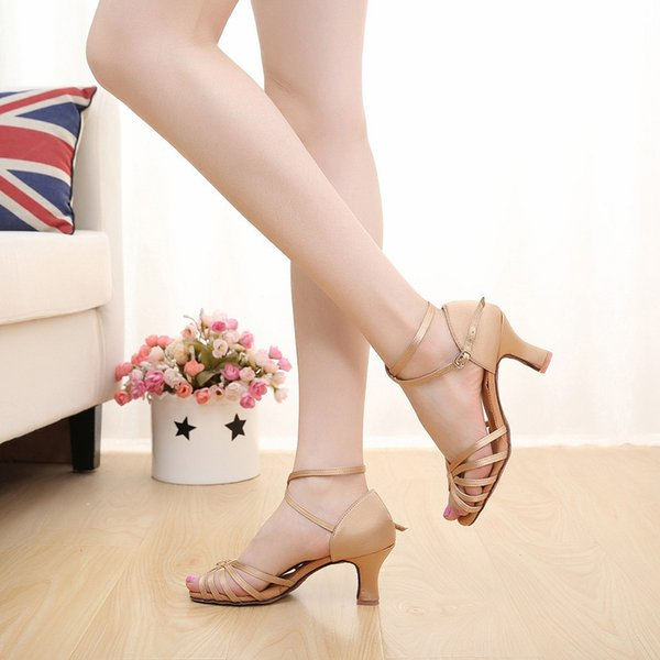 Designer Dress Shoes Sexy Women's High Heels Fashion Summer Prom Ballroom Latin Dance Shoe Casual Party Ladies Single Zapatos Mujer