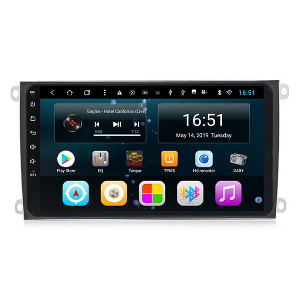Big screen android Octa 8 Core Car pricise GPS Multimedia Player free map front camera fast delivery for Porsche Cayenne 2003-2010 8inch