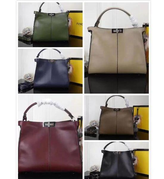 genuine leather handbags women totes new Check Plaid Tartan Brand designer shoulder bag lady small bag crossbody