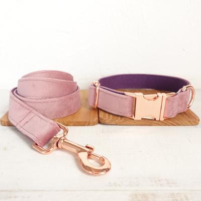 Dog Collar Leash Set