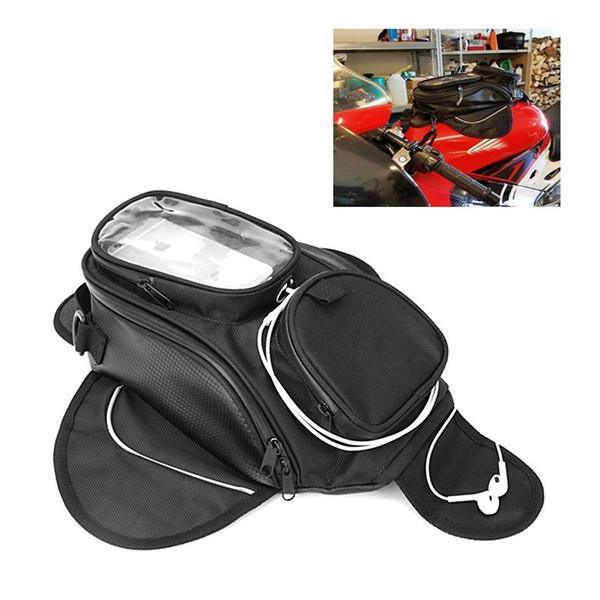 Dropship Motorcycle Топливная сумка для мобильного телефона навигационная сумка многофункциональный небольшой масляный бак пакет фиксированные магнитные ремни