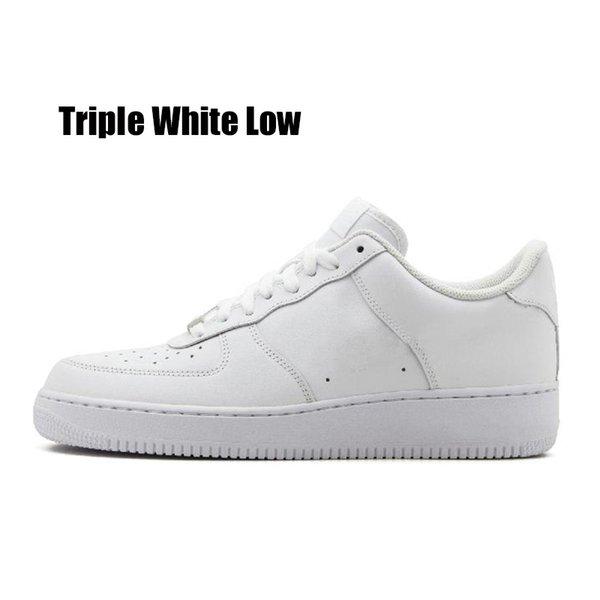 triple blanc bas