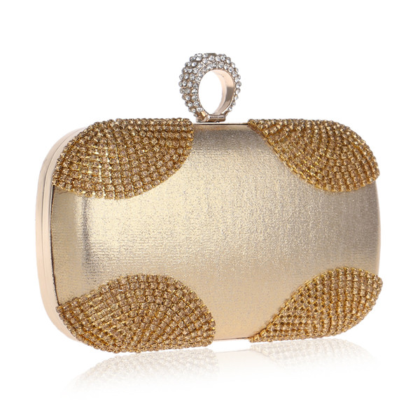 Dgrain Vintage Women Beaded Evening Bags Bridal Wedding Party Beading Handbag and Purse Crystal Day Clutches Shopping Bags