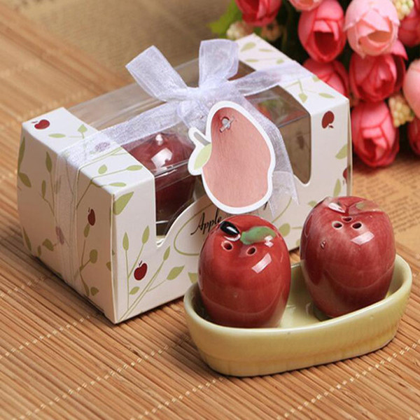 Moq Party Favors Creative Gift Fruit Apple Seasoning Bottle Cute For