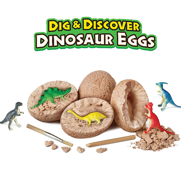 best selling Dig It Up Dinosaur Eggs Dinosaur Excavation Kits for Kids Dino Dig Kits T-Rex Children's Popular Science Education Toys Tyrannosaurus Rex