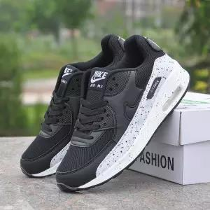 top popular Max90 air cushion sports female lace casual wild running shoes men autumn and winter couple travel shoes mm1 2019